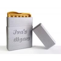 3D табакера (кутия) за цигари с Вашето име!
