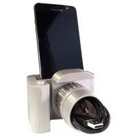 3D стойка за телефон Фотоапарат, с кратък текст/лого/снимка
