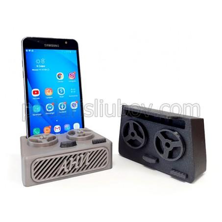 3D стойка за телефон Магнетофон, с име