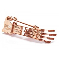 Дървена ръка, пъзел, 3д конструктор