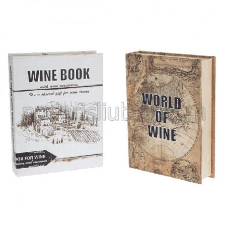 Сет аксесоари за вино Книга