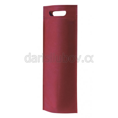 Луксозна текстилна чанта за вино/подарък