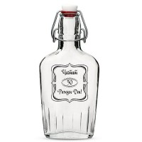 Гравирана бутилка за ракия, подарък за рожден ден