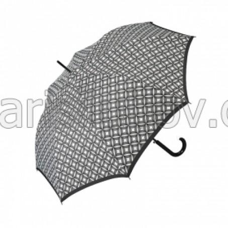 """Дамски чадър """"Черно и Бяло"""" - Pierre Cardin"""