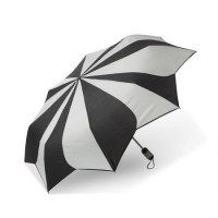 Дамски чадър 'черно-бял' Pierre Cardin
