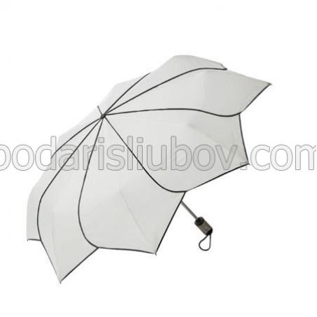 Дамски чадър 'бял' Pierre Cardin