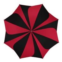 """Дамски чадър """"Червено и черно"""" - Pierre Cardin"""