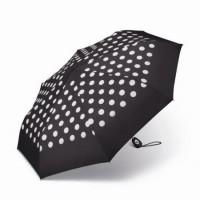 Дамски чадър 'на точки с бял кант' Pierre Cardin