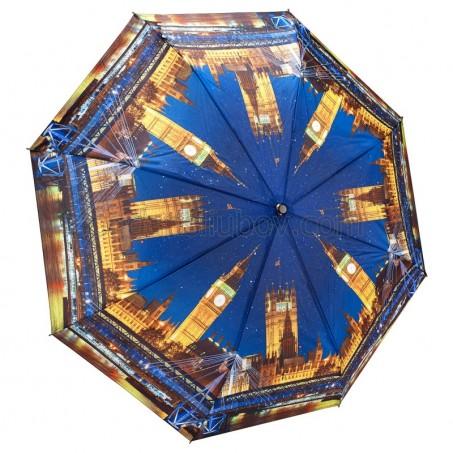 """Сгъваем дамски чадър """"Нощен Лондон"""""""