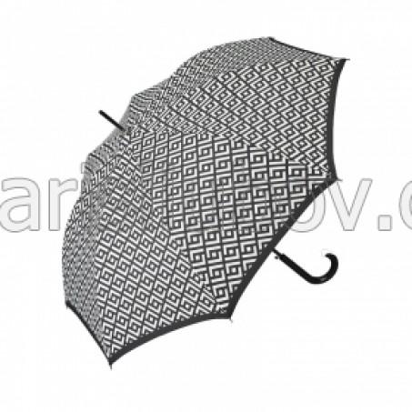"""Дамски чадър """"Геометрични мотиви"""" - Pierre Cardin"""