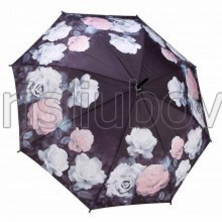 """Прав чадър """"Антични рози"""""""