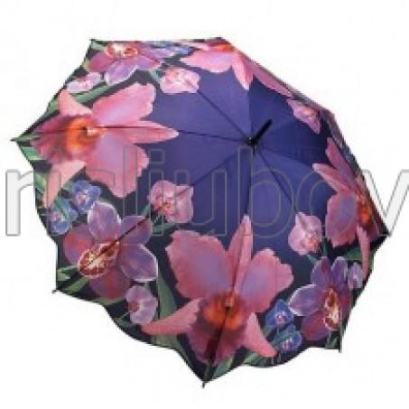 """Прав чадър """"Екзотични Орхидеи"""""""