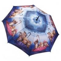"""Прав чадър """"Котета Ахой"""""""