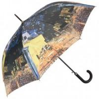 """Прав чадър """"Нощно кафене"""""""