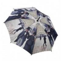 """Прав чадър """"Парижки улици"""""""