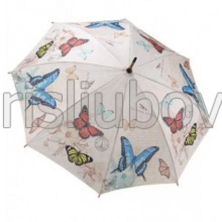 """Прав чадър """"Пеперуди завинаги"""""""