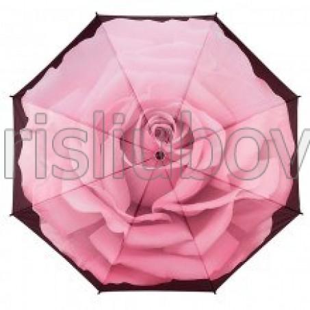 """Прав чадър """"Перфектната роза"""""""