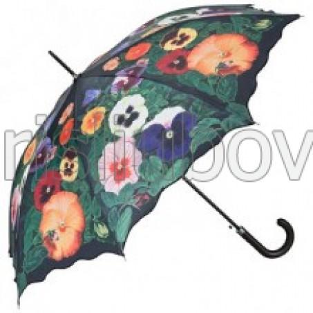 """Прав чадър """"Пъстри Теменужки"""""""