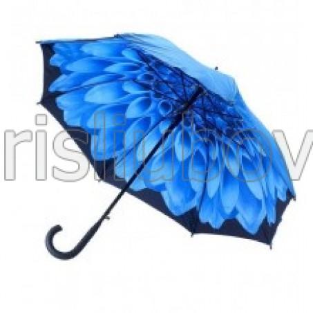 """Прав чадър """"Синя Далия"""""""
