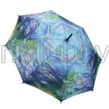 """Прав чадър """"Водните лилии на Моне"""""""