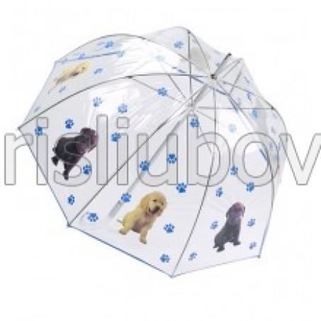 """Прозрачен балон """"Свят за кучета"""""""