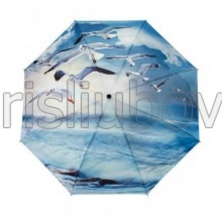 """Сгъваем чадър """"Чайки над океана"""""""