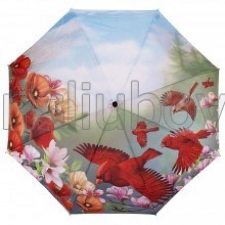 """Сгъваем чадър птица """"Кардинал"""""""
