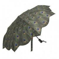 "Сгъваем чадър ""Паунови пера"""