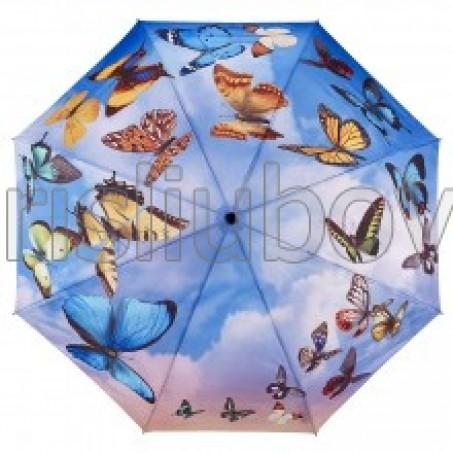 """Сгъваем чадър """"Танцуващи пеперуди"""""""