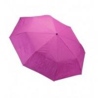 """Сгъваем чадър """"Зебра"""", циклама с двойно покритие"""