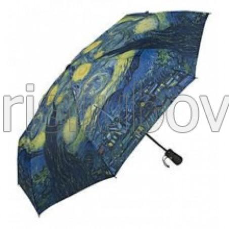 """Сгъваем чадър """"Звездна нощ на Ван Гог"""""""