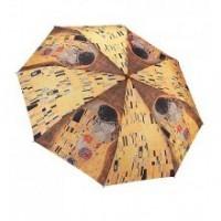 """Сгъваем чадър """"Целувката на Климт"""""""