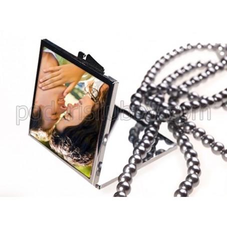 Дамско огледало квадрат със снимка