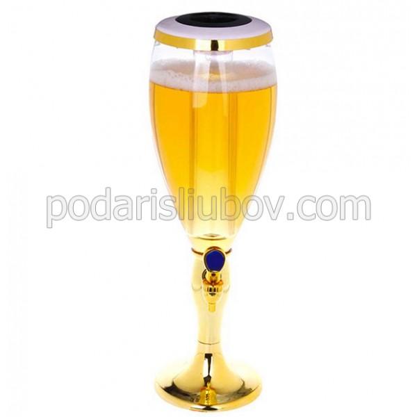 "Диспенсър за напитки ""Златна купа"", LED"