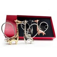 Сет магнитни ключодържатели Жирафи, подаръчна кутийка