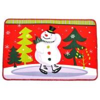 Коледна изтривалка със снежен човек, различни дизайни
