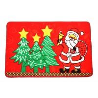 Коледна изтривалка с Дядо Коледа, различни дизайни