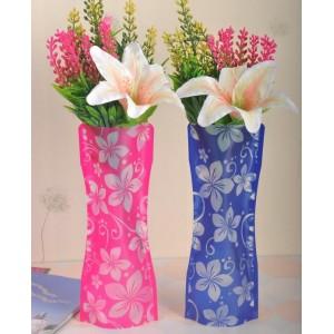 Разгъваема ваза - компактна, лека, цветна