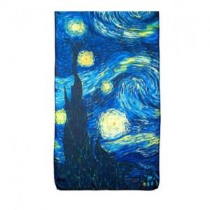 """Дамски шал """"Звездна нощ на Ван Гог"""""""