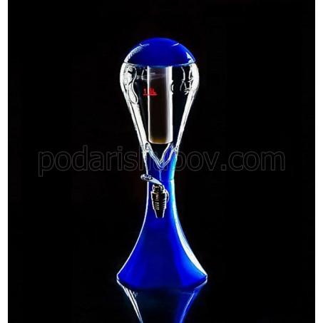 Диспенсър за напитки Цветен балон LED, (различни цветове)