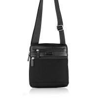 Мъжка чанта среден размер, естествена кожа