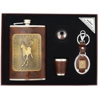 Подаръчен комплект с манерка, чаша и ключодържател Конче