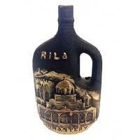 Декоративна бутилка с червено вино - Рилски манастир