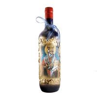 Арт бутилка червено вино