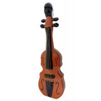 Бутилка кафява Цигулка, керамика, водка 1000мл