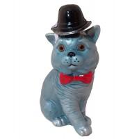 Бутилка Синя Котка, водка златогор 350мл