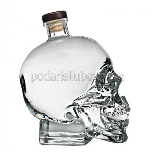 Декоративна бутилка Кристален череп, водка 0,700 мл