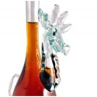 Декоративна бутилка Елен, червен ром