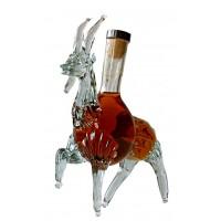 Декоративна бутилка Козел, червен ром