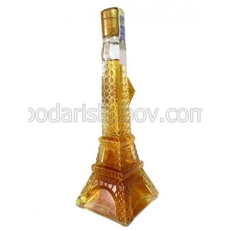 Декоративна бутилка Айфелова кула, бренди 200мл